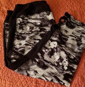 Plus size Capri workout wear